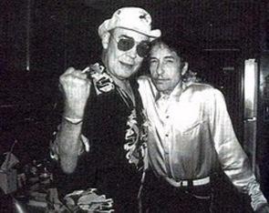 Hunter Thompson & Bob Dylan