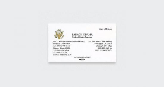 Barack Obama - Senador EUA
