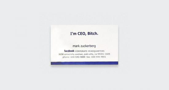 Mark Zuckerberg - Facebook
