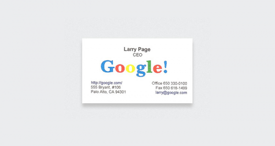 Larry Page - Google CEO