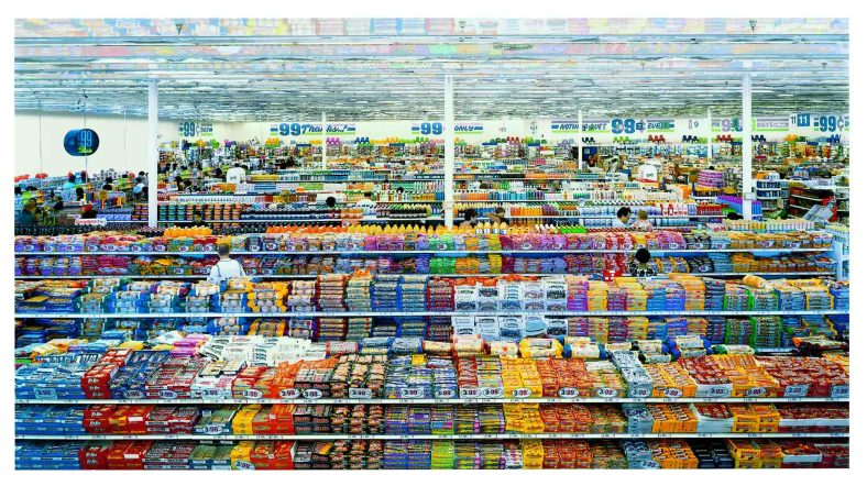 Andreas Gursky - 99 Cent II Diptychon
