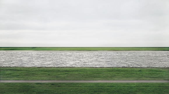 Rhein II - Andreas Gursky