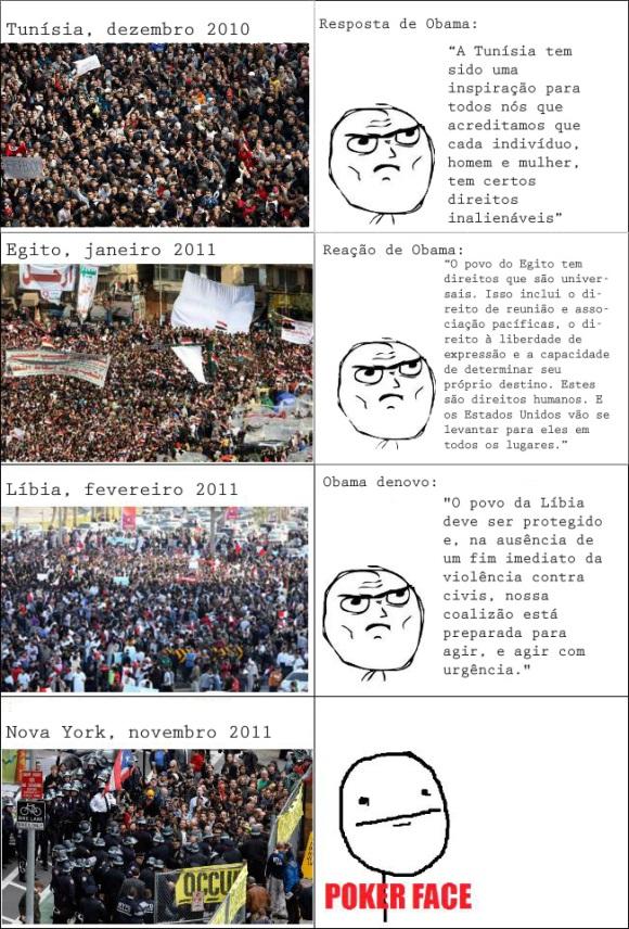 Obama e a democracia: um meme