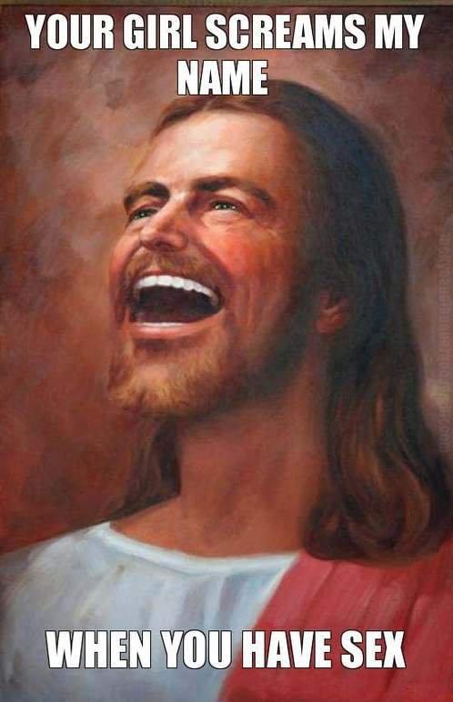 Jesus trollando