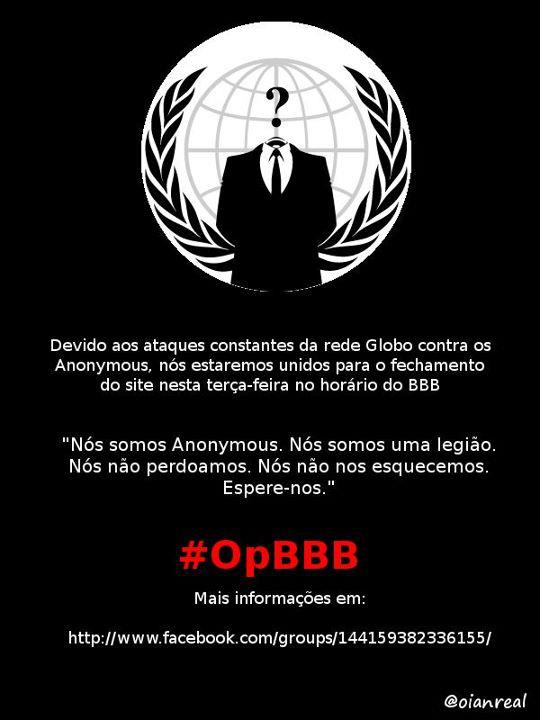 Anonymous #opBBB