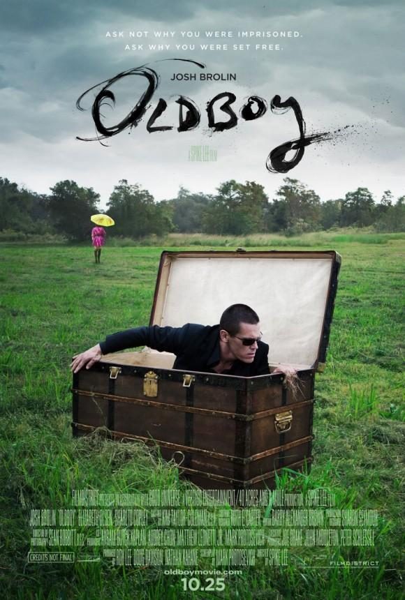 OldBoy Spike Lee - Poster